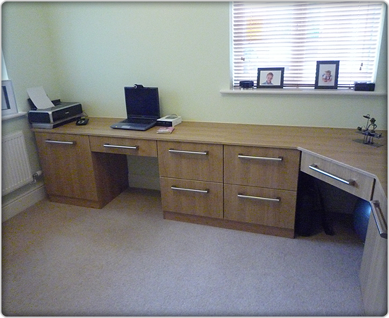 Custom Built Home Office Furniture Northamptonshire